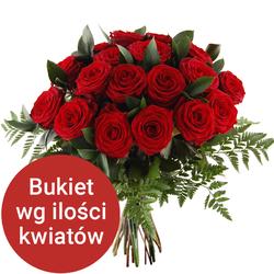 Bukiet 10 róż Telekwiaciarnia